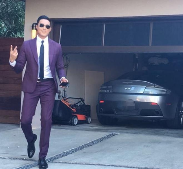 'I live Alone' Daniel Henney, in front of his fancy car