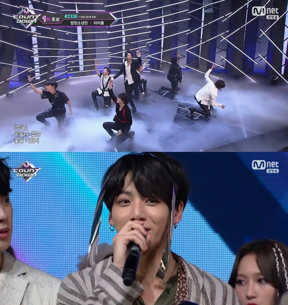 BTS Tops This Week's M!COUNTDOWN and AOA, SHINee Comes Back