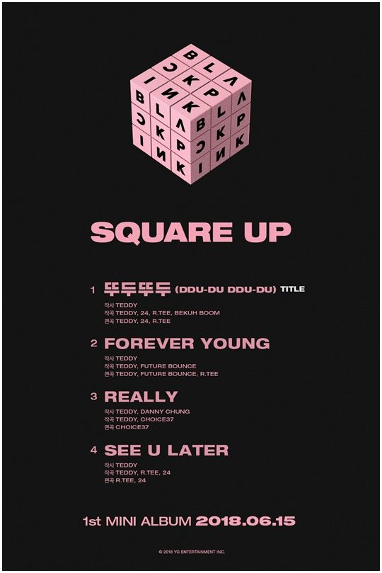 Pre-order BLACKPINK's 'Square Up' Album at Ktwon4u!
