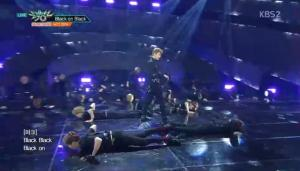 NCT2018 is Back in Full Mode with Black on Black on 'Music Bank'