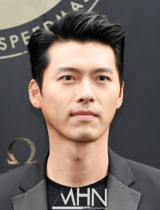 Hyun-Bin OMEGA Watch Photocall