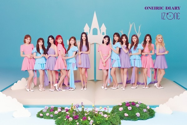 IZ*ONE / Image provided by: Off The Record Entertainment, Swing Entertainment